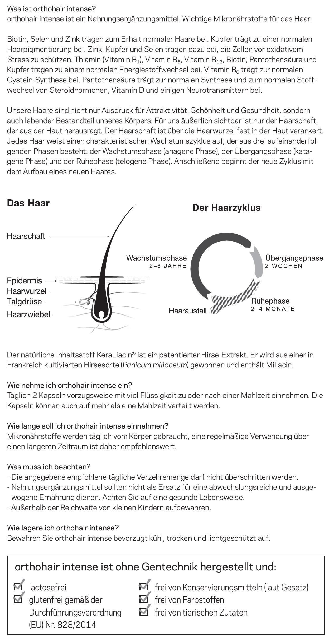 hair-Beschreibung