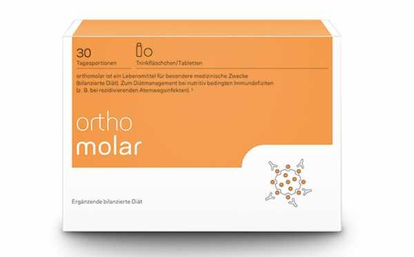 Orthomolar Trinkfläschchen 30 Tagesportionen