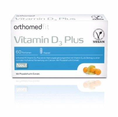 Orthomed fit Vitamin D³ Plus, 60 Tagesportionen