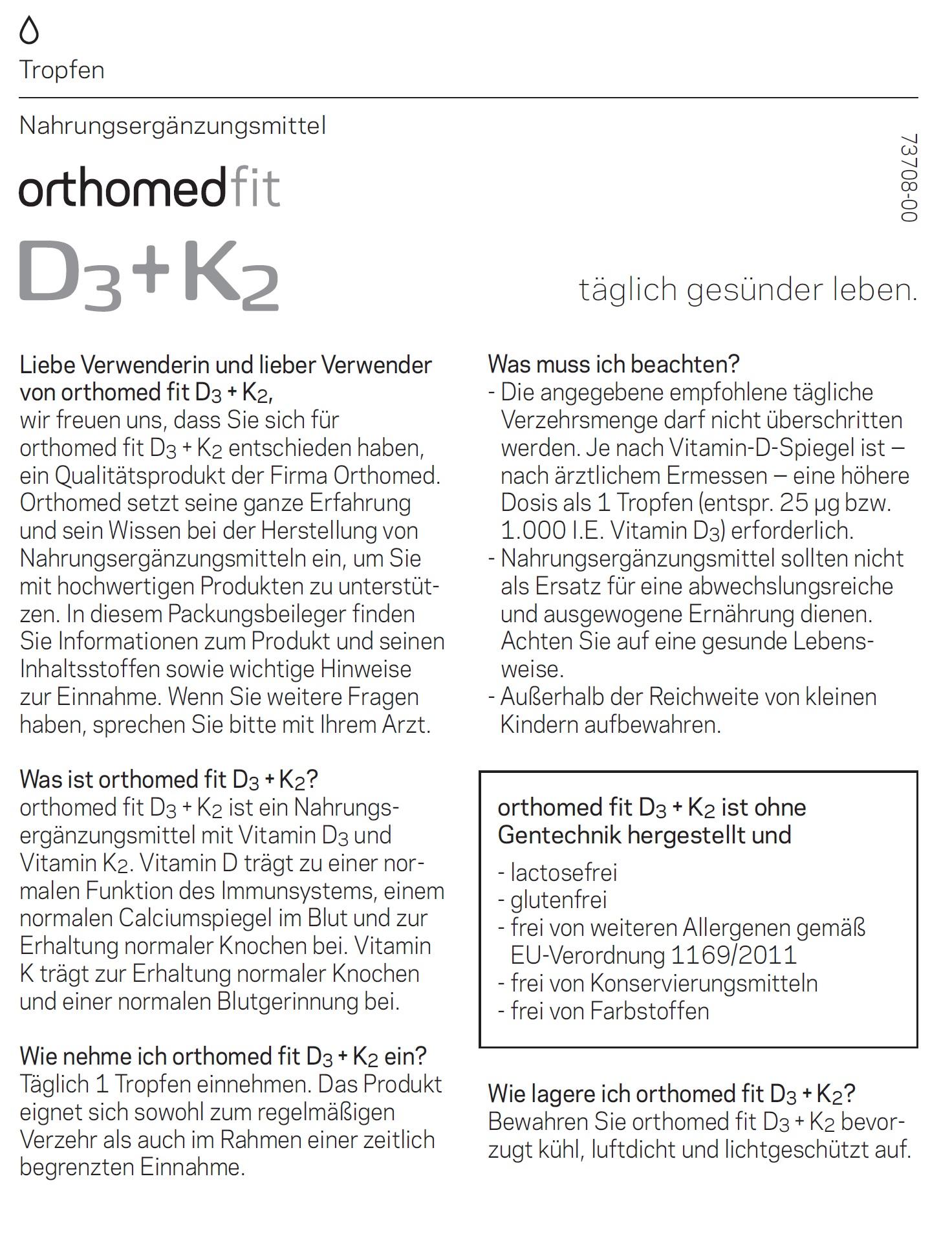 orthomed-D3-K2-Beschreibung