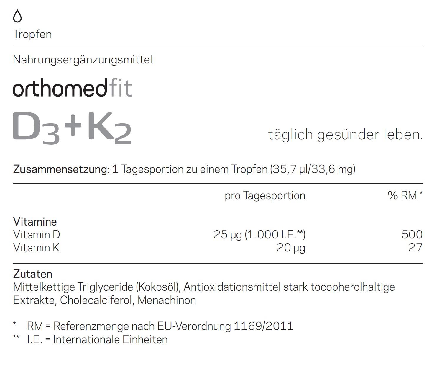 orthomed-fit-D3-D2-Inhaltsstoffe