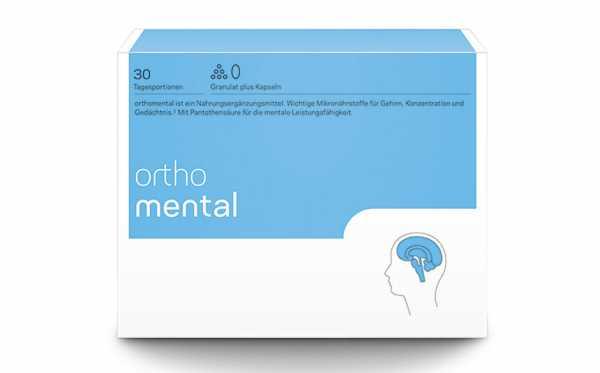 Orthomental 30 Tagesportionen